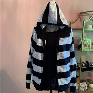 Michael Kors XL zip up sweater